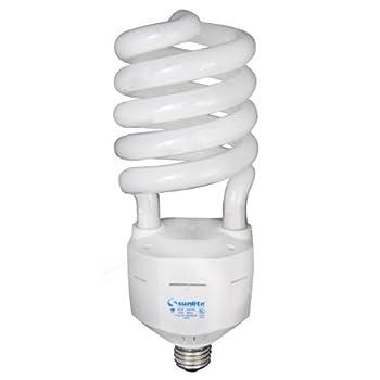 65 Watt - CFL - 300 W Equal - 4100K Cool White - Min. Start Temp. 0 Deg. F - 80 CRI - 52 Lumens per Watt - 15 Month Warranty - Sunlite 05515