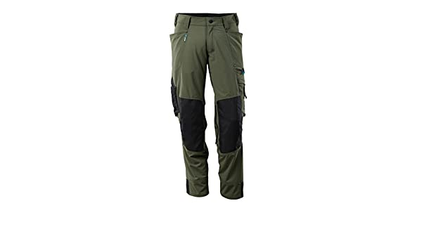 Moss Green Mascot 17179-311-33-90C58 Trousers Safety Pants 90C58