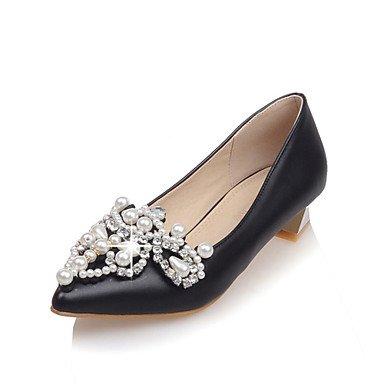 Girl Shoes Pump Shoes CN35 amp;Amp; 5 UK3 5 Party US5 Spring Novelty Fall Materials Wedding Wedding Flower Dress Microfibre RTRY Women'S EU36 Customized Evening Basic 8nES0aaIq