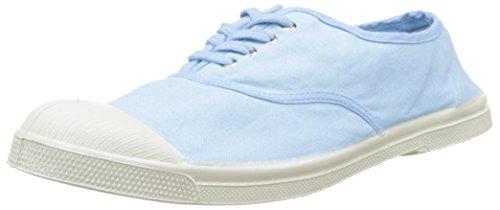 Bensimon Tennis Lacet Homme - Zapatillas de Deporte de lona hombre azul (Bleu Clair)