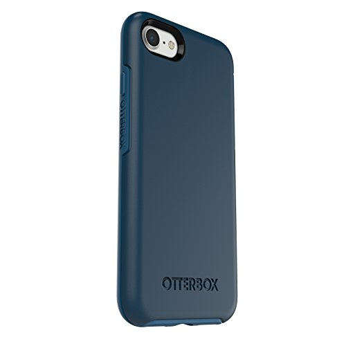 OtterBox SYMMETRY SERIES Case for iPhone 7 (ONLY) - Frustration Free Packaging - BESPOKE WAY (BLAZER BLUE/STORMY SEAS BLUE)