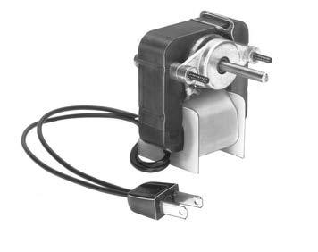 - Fasco C-Frame Vent Fan Motor 1.2 amps 3000RPM 115 Volts # K113 (CCW rotation)