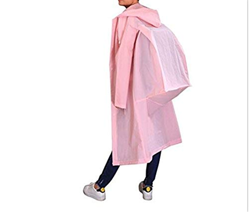 Donne Donne Donne Esterna Cappuccio Riutilizzabile Poncho Poncho Poncho Impermeabile Pioggia Impermeabile Casuale 2 E con Battercake Colore XL Ambientale 10 Q Impermeabile zvxBq0U