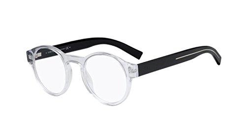 (New Christian Dior Homme Black Tie 245 MNG Crystal Black Eye Wear Eye)
