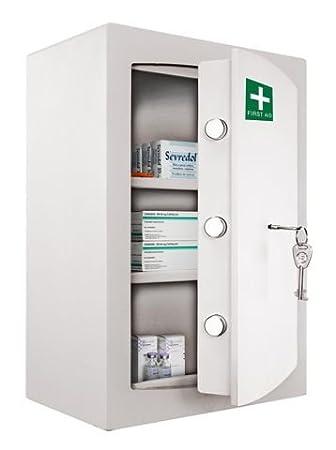 Medicine Cabinet   Key Locking Safe Medical Cabinet   First Aid U0026 Drugs  Storage