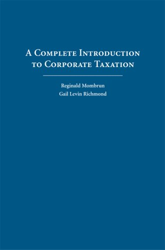 A Complete Introduction to Corporate Taxation