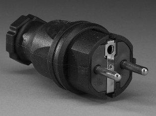 Larson Electronics AML-LED-WP40-M-22SCH-Brnz High Intensity LED Automotive Mechanics' Work Light with Magnetic Base - 22' Cord - Schuko Plug (Bronze)