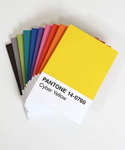 office products,  office, school supplies 10 picture Pantone: 10 Notebooks promotion