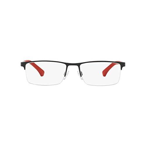 f9e2f3a58b89 En venta Emporio Armani - Montura de gafas - para hombre Negro matt schwarz  - rot