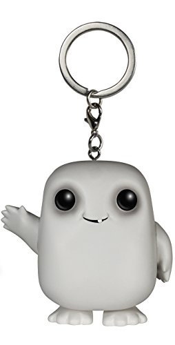 All Star Key Tag - Funko Doctor Who - Adipose Action Figure Pocket Pop Keychain