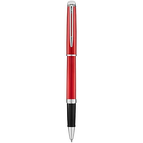 Waterman Hemisphere Rollerball Pen Fine Point with Black Ink Cartridge (2043213) by Waterman (Image #2)