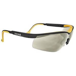 Dewalt DPG55-9C Dual Comfort Indoor/Outdoor High Performance Protective Safety Glasses with Dual-Injected Rubber Frame and Temples