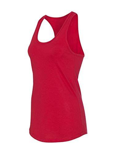 Next Level Apparel Women's The Ideal Quality Tear Away Tank Top, Red, XX-Large