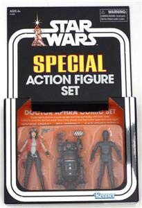 SDCC 2018 Excl. Hasbro STAR WARS THE VINTAGE COLLECTION DOCTOR APHRA COMIC SET