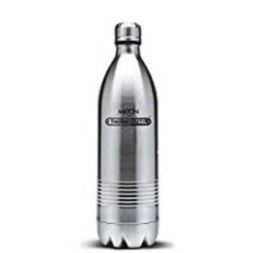 MILTON Thermosteel Duo 1000 Dlx Bottle, 1 Litre(Ec-Tms-Fis-0019) Red ()