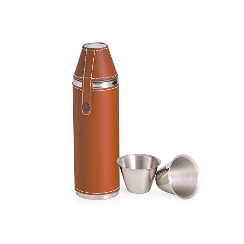 Stainless Steel 10oz Alcohol Flask - 2