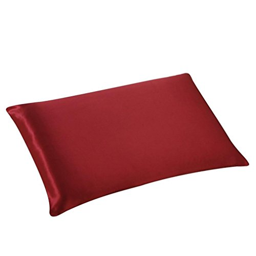 Amazon.com: Kimloog Home Decorative Silk Pillowcase Satin