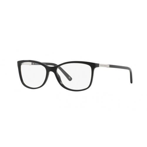 Dolce & Gabbana Womens DG3107 LOGO PLAQUE 501 Black Plastic Rectangle Eyeglasses