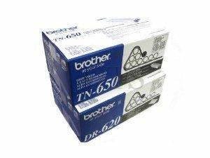 Brand New Genuine Brother Drum Unit And TN 650 Toner Cartridge