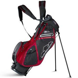 Sun Mountain Golf 2018 3.5 LS Stand Bag GNMTL-RED (Gunmetal/Red)