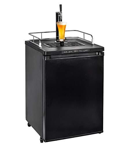 - Smad Full Size Beer Kegerator Refrigerator Beer Keg Cooler Draft Beer Dispenser with Digital Display,Black