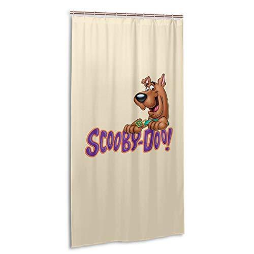 VIMMUCIR Scooby Doo Shower Curtain Waterproof Bath Curtain for Bathroom 36 X 72 in