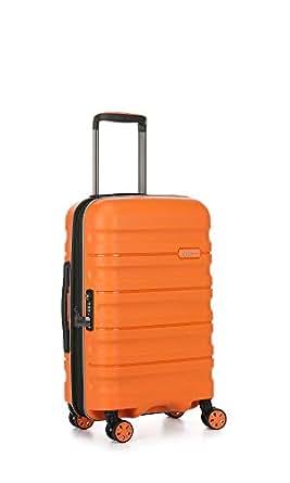 Antler Juno 2 4W Cabin Roller Carry-On Hardside, Orange, 56cm