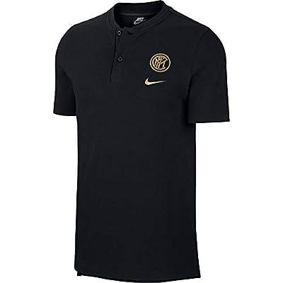 Nike Inter Milan NSW Modern GSP Polo Shirt - Black/Gold 2019-2020