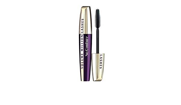 1e93887fd89 Amazon.com : Loreal Volume Million Lashes So Couture So Black Mascara Extra  Black : Beauty