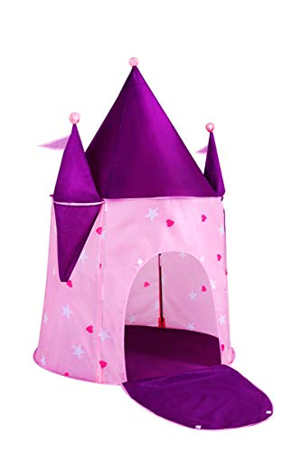 Alvantor Kids Princess Crystal Castle, Pop Play Tents Indoor Outdoor Great Game and Toy Gift for Children Fun, Crystle,...