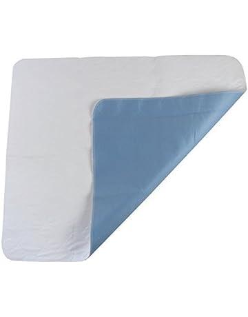 Cubrecolchón protector contra incontinencias, 60 x 90 cm, lavable a 90º