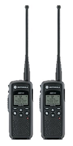 2 Pack of Motorola DTR550 Two Way Radio Walkie Talkies by Motorola