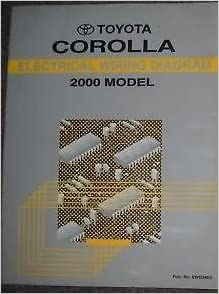 Astounding 2000 Toyota Corolla Electrical Wiring Diagrams Service Shop Repair Wiring Digital Resources Sapredefiancerspsorg