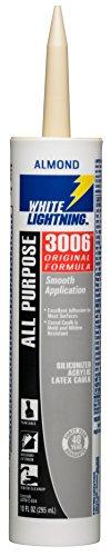 white-lightning-products-1010-3006-siliconized-all-purpose-acrylic-latex-adhesive-caulk-almond
