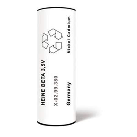 WP000-X-002.99.382 X-002.99.382 Heine Nicad Battery Beta R/NT Quantity of 1 unit From Heine USA Ltd -# X-002.99.382 ()
