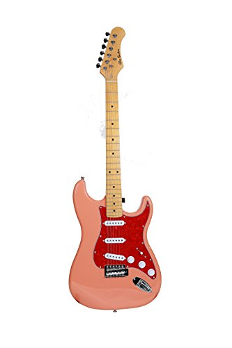 Glen Burton GE39-ST102-RD Electric Guitar X-Series Traditional ST Style, Red