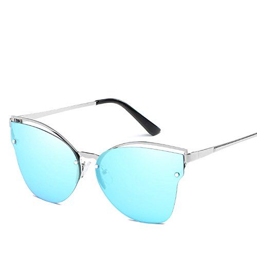 Hombres Damas Personalidad De Dirección Unisex N01 RinV Sol De Plano Viajes Gafas Metal Gafas Espejo Espejo NO6 Sol Playa De d5FwFxTXnq