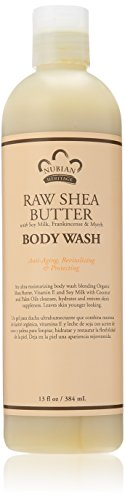 Ginger Hydrating Body Wash (Nubian Heritage Body Wash, Raw Shea and Myrr, 13 Fluid Ounce)
