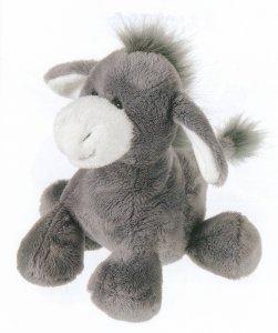 Pufferbellies Donkey plush -