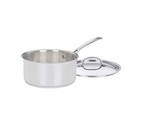 Cuisinart Chef's Classic Stainless 3-Qt. Covered Saucepan