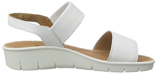 Weiß F Open Ganter Toe Women's Weiß White Weite 0200 Florence Sandals qAwxAORz