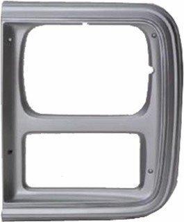 QP C0782-a Chevy Van Silver Driver Headlight Door Grille
