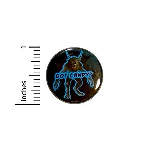 Werewolf Button Got Candy? Halloween Party Favor Treak Or Treat Pin 1