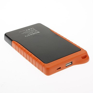 naluo DBK S72 7200mAh Portable Power Bank for Mobile Devices Solar Power by lala Cell Phone Accessories