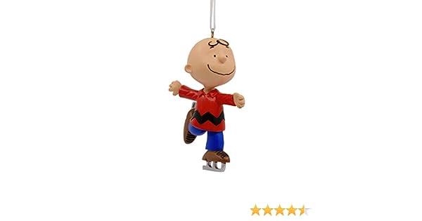 Hallmark Peanuts Charlie Brown Ice Skating Winter Fun