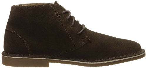 Nunn Bush Mens Galloway Chukka Laars Donkerbruin Suède