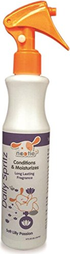 Nootie Daily Pet Conditioning Spritz, 8-Ounce, Soft Lily Passion