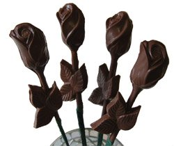 Milk Chocolate Sweetheart Roses