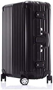 459fe019d Maletas, Maleta Ultraligera Completa Transparente Embarque Universal en  Ruedas The Chassis Trolley Case Password Box Black (Color : 110L)