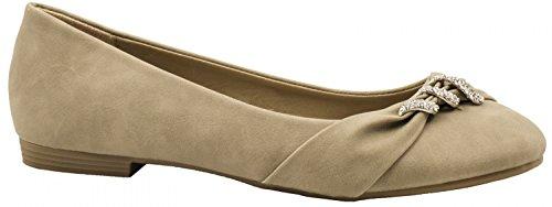 Elara , Sneakers Basses femme - beige - beige,